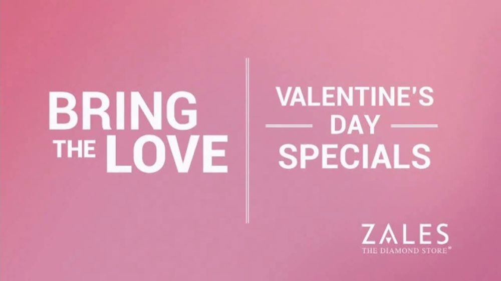 Zales Valentine S Day Specials Tv Commercial Bring The