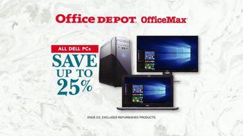 Office Depot OfficeMax TV Spot, 'Dell PCs'