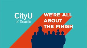 City University of Seattle TV Spot, 'All About the Finish'