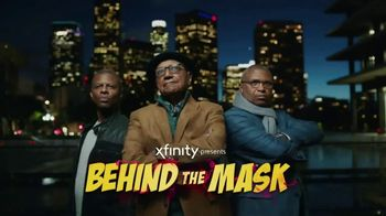XFINITY X1 Voice Remote TV Spot, 'Behind the Mask' Feat. Phil Lamaar - 492 commercial airings