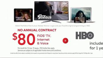 FiOS by Frontier TV Spot, 'Speed Up' - 49 commercial airings
