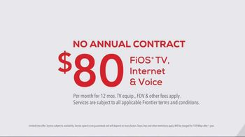 FiOS by Frontier TV Spot, 'Speed Up' - Thumbnail 5