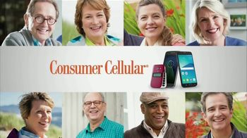 Consumer Cellular TV Spot, 'How Much You Use Phone' - Thumbnail 1