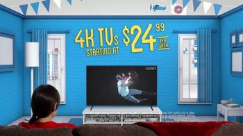 Rent-A-Center TV Spot, 'Big TVs to Get Game-Day Ready'