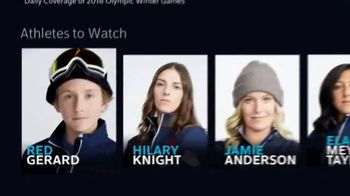 XFINITY X1 Voice Remote TV Spot, 'Winter Olympics Rap' - Thumbnail 3