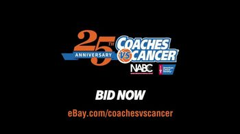 Coaches vs. Cancer TV Spot. 'Roy Williams Suits and Sneakers: eBay Auction' - Thumbnail 8