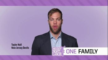 NHL TV Spot, '2018 Hockey Fights Cancer' Featuring Taylor Hall, T.J. Oshie - Thumbnail 5