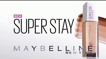 Maybelline SuperStay Foundation TV Spot, 'Cobertura total' [Spanish] - Thumbnail 10