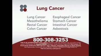 Sokolove Law TV Spot, \'Lung Cancer: Asbestos Exposure\'