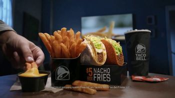 Taco Bell $5 Nacho Fries Box TV Spot, 'Delicious Bonus' Feat. Josh Duhamel - Thumbnail 8