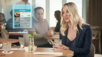 Priceline.com TV Spot, 'Choked Up' Featuring Kaley Cuoco - 4585 commercial airings