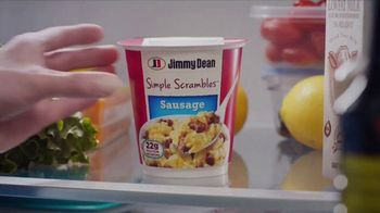 Jimmy Dean Simple Scrambles TV Spot, 'Pajamas'