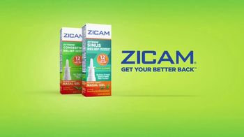 Zicam TV Spot, 'Extreme Congestion and Intense Sinus Relief' - Thumbnail 8