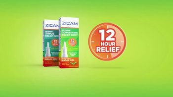 Zicam TV Spot, 'Extreme Congestion and Intense Sinus Relief' - Thumbnail 4