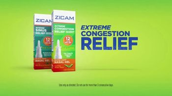 Zicam TV Spot, 'Extreme Congestion and Intense Sinus Relief' - Thumbnail 5
