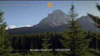 Rocky Mountaineer TV Spot, 'Experience the Canadian Rockies' - Thumbnail 1