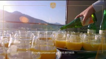 Rocky Mountaineer TV Spot, 'Experience the Canadian Rockies' - Thumbnail 3