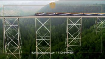 Rocky Mountaineer TV Spot, 'Experience the Canadian Rockies'