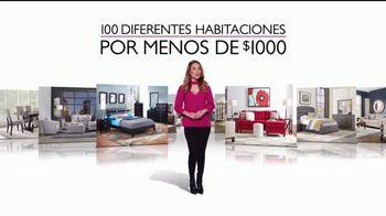 Rooms to Go TV Spot, 'Cien habitaciones' con Ximena Córdoba [Spanish] - Thumbnail 3