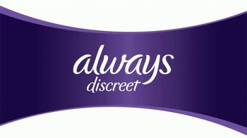 Always Discreet TV Spot, 'Bulk Comparison' - Thumbnail 1