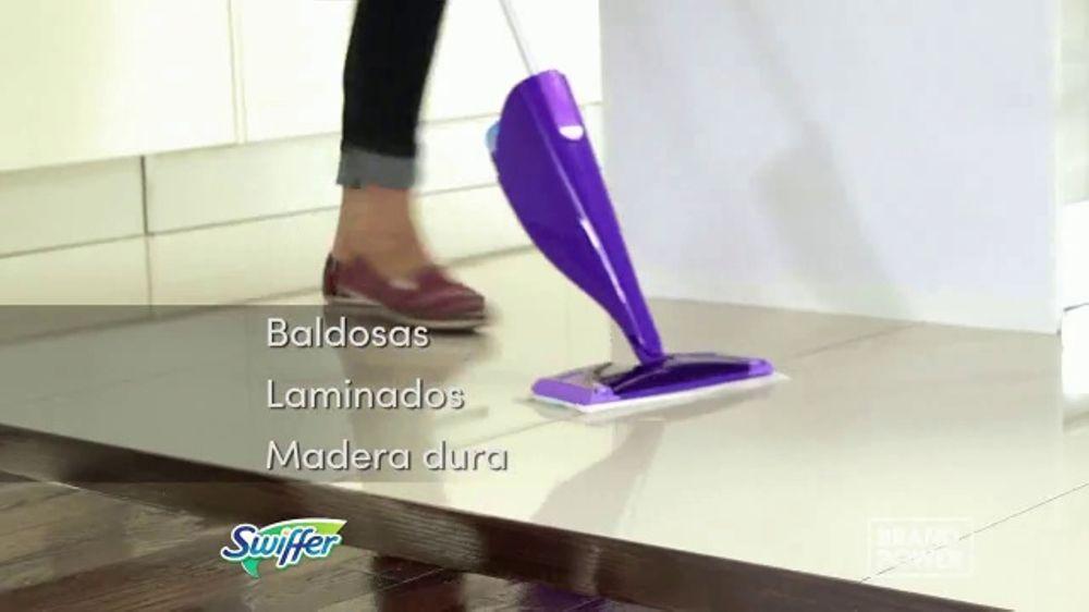 Swiffer Wet Jet Tv Commercial Brand Power Limpieza