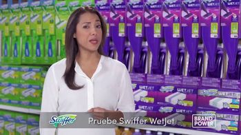 Swiffer Wet Jet TV Spot, 'Brand Power: limpieza conveniente' [Spanish] - Thumbnail 4