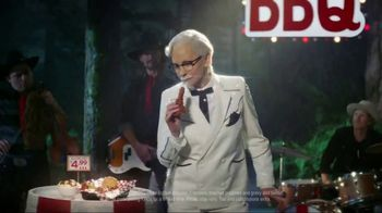 KFC Smoky Mountain BBQ TV Spot, 'Country Music Singer' Feat. Reba McEntire - Thumbnail 8