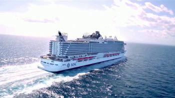 MSC Cruises Save & Sail TV Spot, '7-Night Caribbean Cruise'