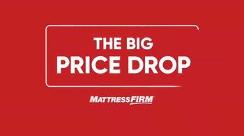 Mattress Firm Big Price Drop TV Spot, 'Bigger Bed for Bigger Savings'