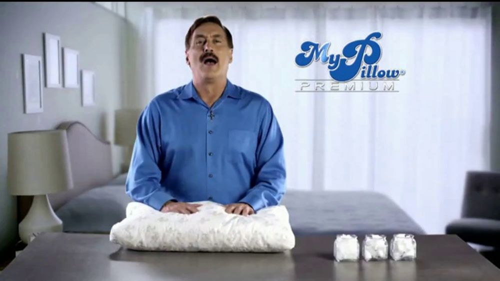 My Pillow Premium Tv Commercial Trouble Sleeping Two For One
