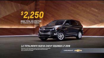 2018 Chevy Equinox TV Spot, 'La confiabilidad importa: mesa' [Spanish] [T2] - Thumbnail 8