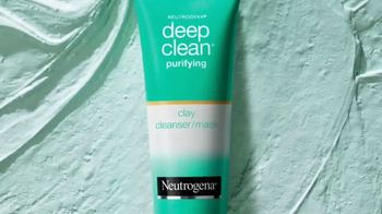 Neutrogena Deep Clean Purifying Clay Cleanser TV Spot, 'Beyond Clean' Featuring Olivia Holt - Thumbnail 3