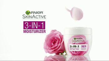 Garnier SkinActive 3-In-1 Moisturizer TV Spot, 'Discover the Moisturizer' - Thumbnail 10