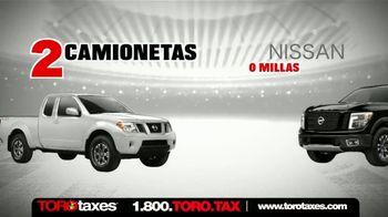 Toro Taxes TV Spot, 'Dos camionetas Nissan' [Spanish] - Thumbnail 2