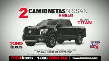 Toro Taxes TV Spot, 'Dos camionetas Nissan' [Spanish] - Thumbnail 5