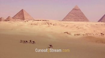 CuriosityStream TV Spot, \'Scanning the Pyramids\'