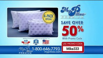 My Pillow Premium TV Spot, 'Better Night's Sleep: 4-Pack Special' - Thumbnail 10