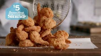 Popeyes $5 Sweet Heat Butterfly Shrimp TV Spot, 'No Flavor in the World' - Thumbnail 4