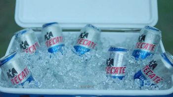 Tecate Light TV Spot, 'The Ice Cold Tecate Can Challenge' - Thumbnail 1