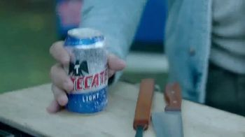 Tecate Light TV Spot, 'The Ice Cold Tecate Can Challenge' - Thumbnail 8