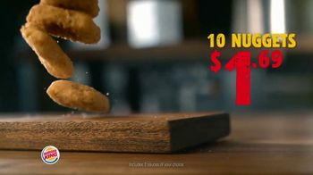 Burger King King Savings Menu TV Spot, 'Cheeseburger Meal' - Thumbnail 4