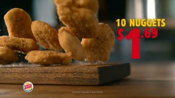 Burger King King Savings Menu TV Spot, 'Cheeseburger Meal' - Thumbnail 5