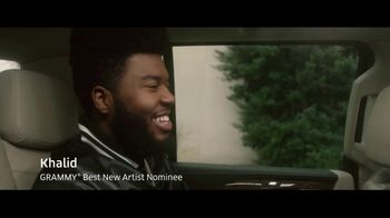 Uber TV Spot, 'Khalid's Road to Best New Artist Nominee' - 1 commercial airings