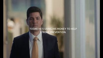 Ally Bank TV Spot, 'Stroke Prevention' Featuring Tedy Bruschi