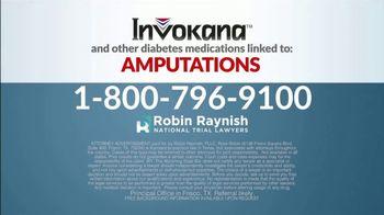 Robin Raynish Law TV Spot, 'INVOKANA Amputations' - Thumbnail 7