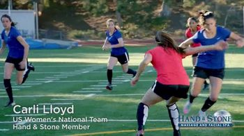 Hand and Stone TV Spot, '2018 Valentine's Day' Featuring Carli Lloyd - Thumbnail 2