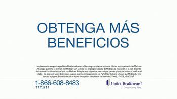 UnitedHealthcare Dual Complete TV Spot, 'Obtenga más beneficios' [Spanish] - 1400 commercial airings