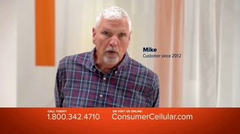 Consumer Cellular TV Spot, 'Real People: Plans $15+ a Month' - Thumbnail 1