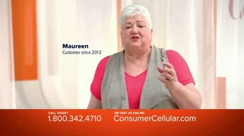 Consumer Cellular TV Spot, 'Real People: Plans $15+ a Month' - Thumbnail 4