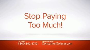 Consumer Cellular TV Spot, 'Real People: Plans $15+ a Month' - Thumbnail 5